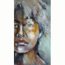 Self Portrait close-up